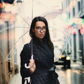 Fashion Trend Of The Month – Die transparente Regenjacke