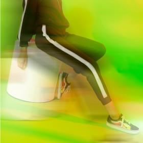 Hosen mit Seitenstreifen