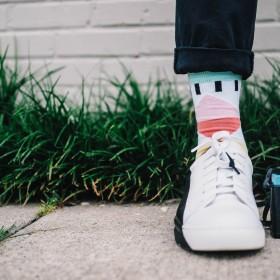 Statement-Socken: Bunte Socken mit denen man auffällt