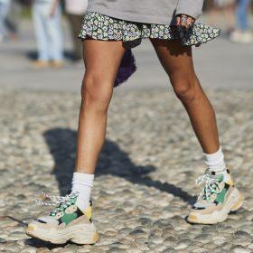 Klobige Schuhe kombinieren