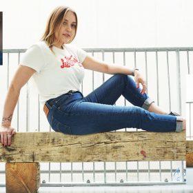Endlich gefunden: diese Jeans macht schlanke Beine