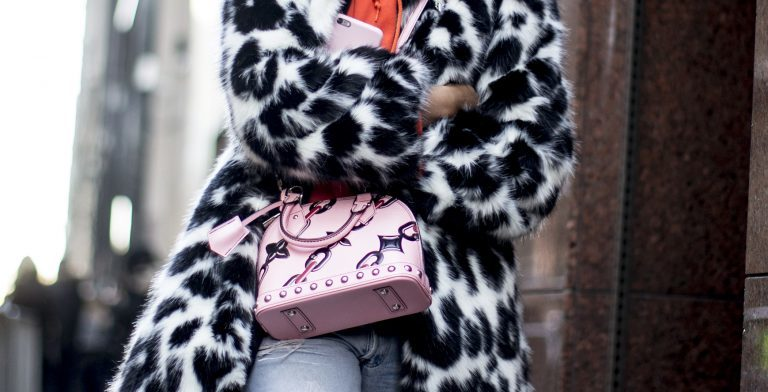 winter outfits mit animalprint