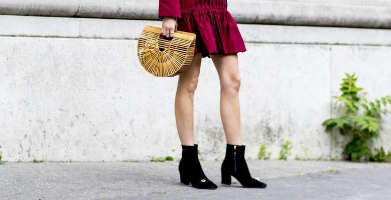 welche Schuhe zu rotem Kleid