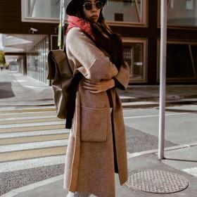 Langer Mantel Damen