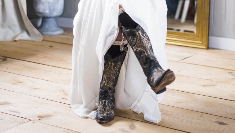 Trend Schuhe Herbst Cowboyboots
