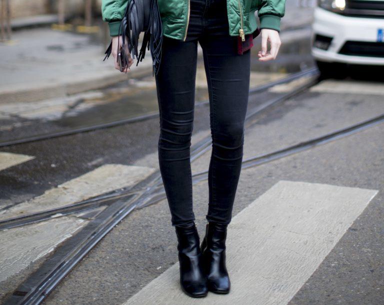Welche Schuhe zur Skinny Hose