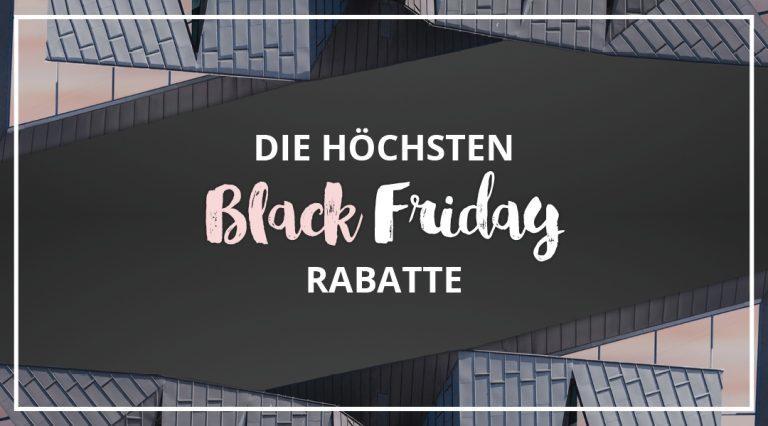 Alle Black Friday Rabatte für Kleidung gesammelt