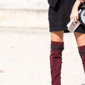 Overknees Style: 4 Wege, wie du Overknee Stiefel kombinieren kannst