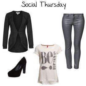 Look des Tages - Social Thursday!