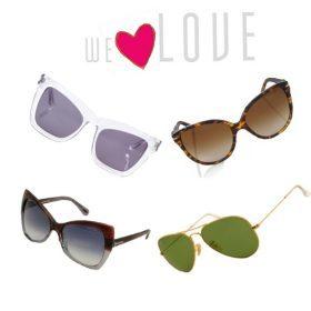 Modetrends Frühjahr/ Sommer 2013 - Die Sonnenbrille