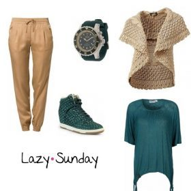 Look des Tages - Lazy Sunday