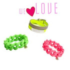 Fashiola.de loves...die 'Marc by Marc Jacobs' Armbänder!