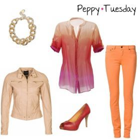 Look des Tages - Peppy Tuesday!