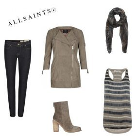 Look des Tages (by All Saints)