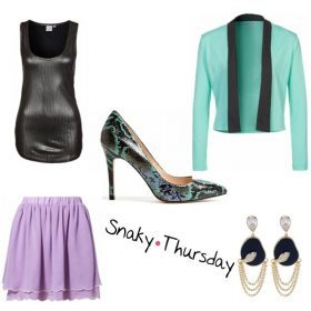 Look des Tages - Snaky Thursday!
