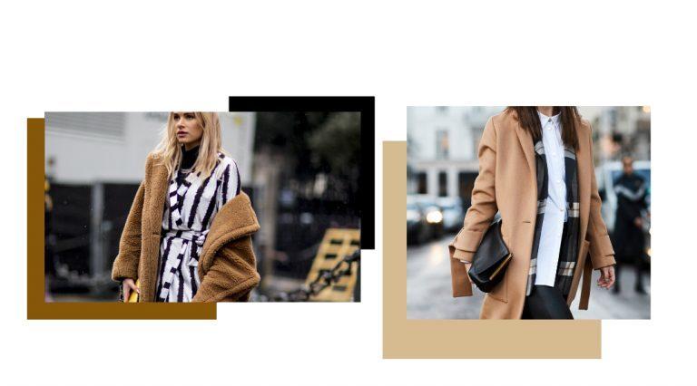 Der Camel Coat: 1 Trend, 4 Styles