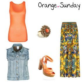 Look des Tages - Orange Sunday!