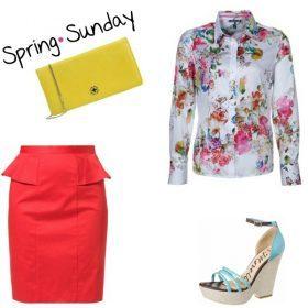 Look des Tages - Spring Sunday!