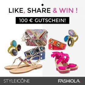 Like, share & win einen 100€ Gutschein von STYLEICÔNE.com!