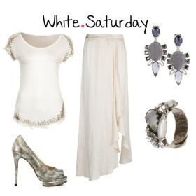 Look des Tages - White Saturday!