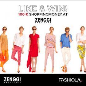 Like, share & win einen 100€ Gutschein von Zenggi!