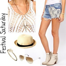 Look des Tages - Festival Saturday!