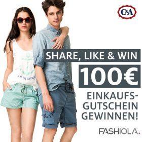Like, share & win einen 100€ Gutschein von C&A!