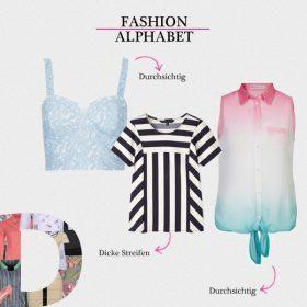 Modetrends 2013 | Fashion Alphabet | D
