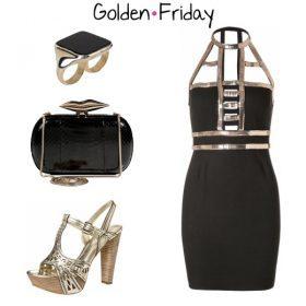 Look des Tages - Golden Friday!
