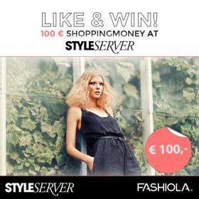 Like, share & win einen 100€ Gutschein von Styleserver!
