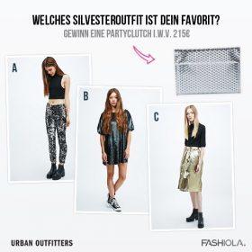 Comment & Win eine Partyclutch von Urban Outfitters i.W.v. 215€