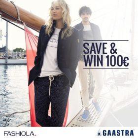 Save & Win einen 100 Euro Gutschein von Gaastra!