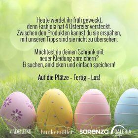 Finde die 4 Ostereier und gewinne einen der 150€ Gutscheine!