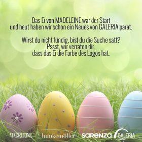 Ostern bei GALERIA Kaufhof: Sicher dir jetzt 10€ Rabatt und das Osterei!