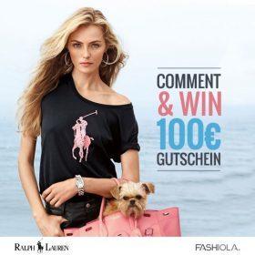 Comment & Win einen 100 € Gutschein von Ralph Lauren!