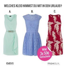 Happy Holiday: Entdecke die Oasis Sommerkleider & Gewinn!