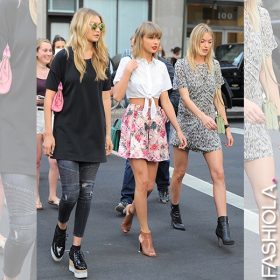Spotted: Taylor Swift, Gigi Hadid & Martha Hunt