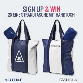 Sign up & Win eine Strandtasche mit Handtuch von Gaastra!