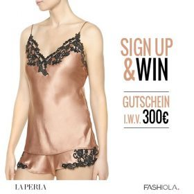 Sign up & Win einen 300€ Gutschein von La Perla!
