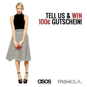 Tell us & Win einen 100 Euro Gutschein von ASOS!