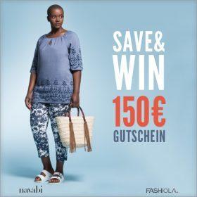 Save & Win einen 150€ Gutschein von Navabi!