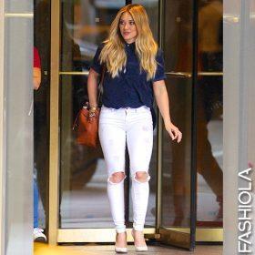 Weißes Kleid kommt später, weiße Jeans bitte jetzt!