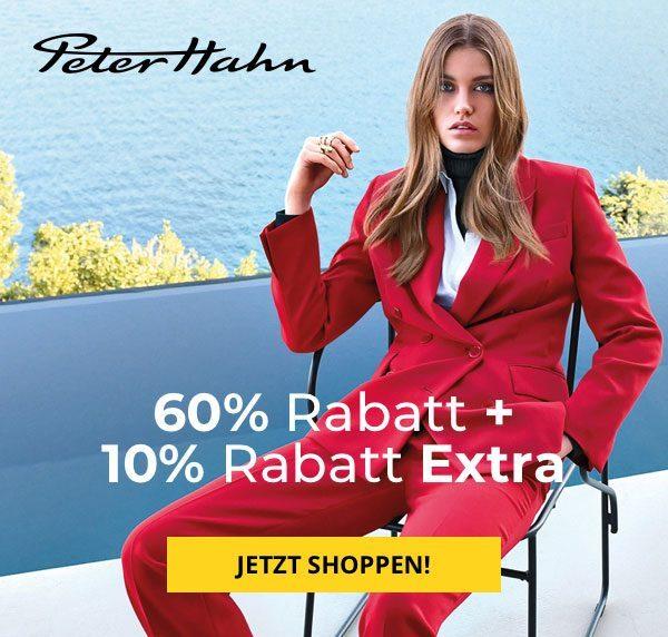 60% Rabatt + 10% Rabatt Extra bei Peter Hahn