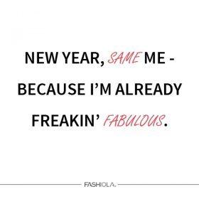 Neujahrsvorsätze mit #FashiolaFestive