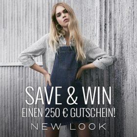 Save & Win einen 250€ Gutschein bei New Look