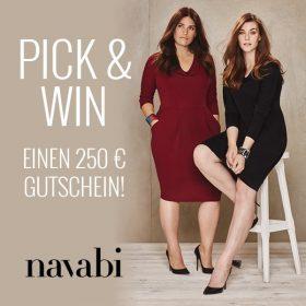Pick & Win einen 250€ navabi-Gutschein