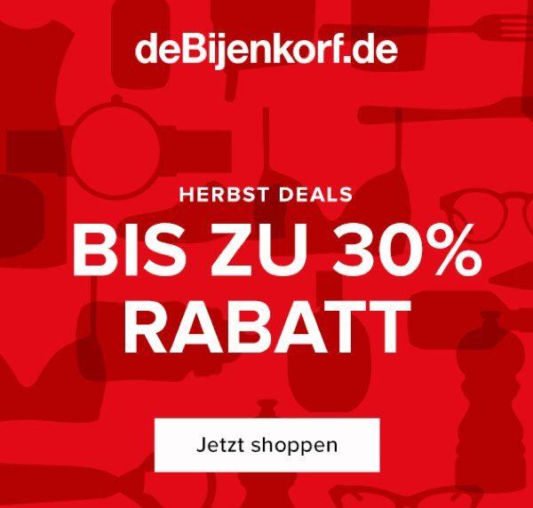 deBijenkorf October promo double SRB