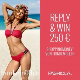 Reply & Win: 250 € Shoppingmoney von Hunkemöller!