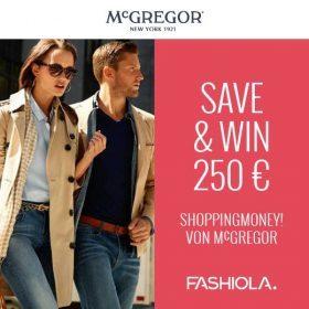 Save & Win einen 250€ Gutschein von McGregor!