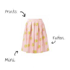 Wie finde ich den perfekten Sommerrock ?
